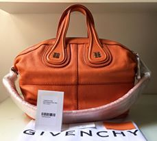 bnew authentic givenchy nightingale small orange goatskin leather marga can, -- Bags & Wallets -- Metro Manila, Philippines